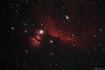 Horsehead and Flaming Star Nebula