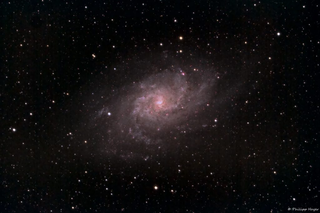 Galaxies, Perseids and a new Telescope